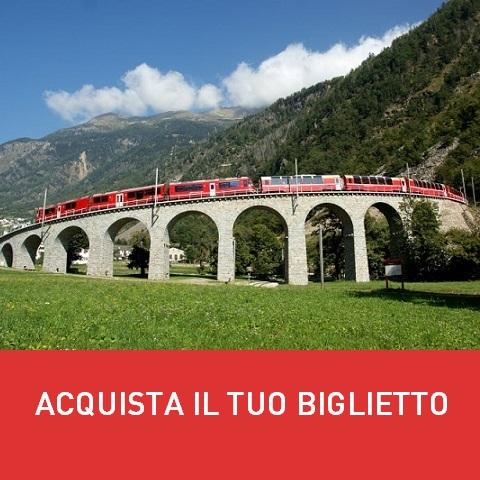 Acquistare biglietto trenino del Bernina